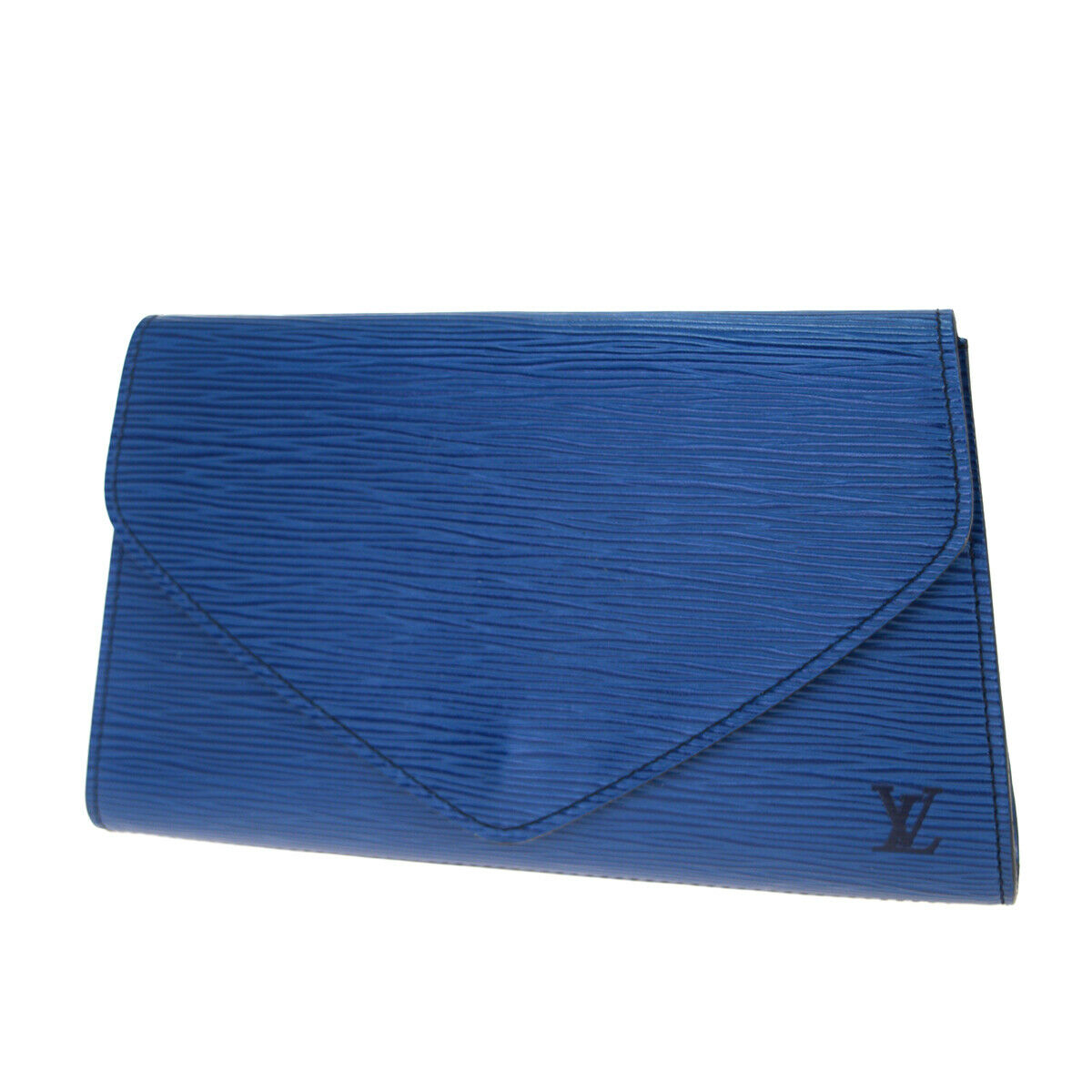 Auth Louis Vuitton Epi Art Deco M52635 Clutch Toledo-Blau 63GC138 - 351.00,Kaufpreis 351,datum 30.07.2020 12:12:37,Website