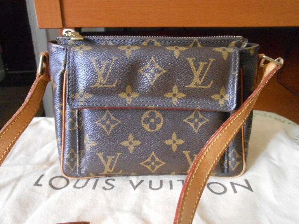 Authentic Louis Vuitton Monogram Viva Cite PM Schultertasche Cross Body - 616.07,Kaufpreis 616,07,datum 01.07.2020 22:12:38,Website rebelle.com
