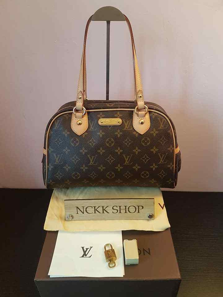 Authentic Louis Vuitton Monogram Canvas montorguell PM Umhängetasche m95565 - 869.09,Kaufpreis 869,09,datum 01.07.2020 22:12:38,Website quoka.de