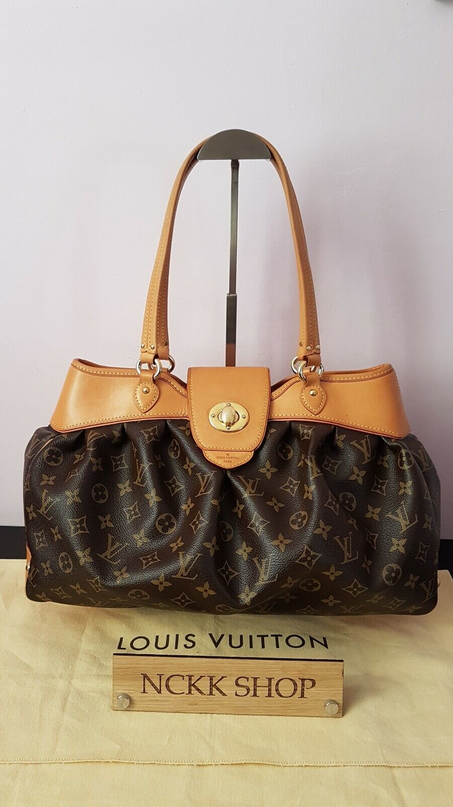 100% Authentic Louis Vuitton boesi MM Monogram Canvas Umhängetasche m45714 - 979.11,Kaufpreis 979,11,datum 01.07.2020 22:12:38,Website ebay.de