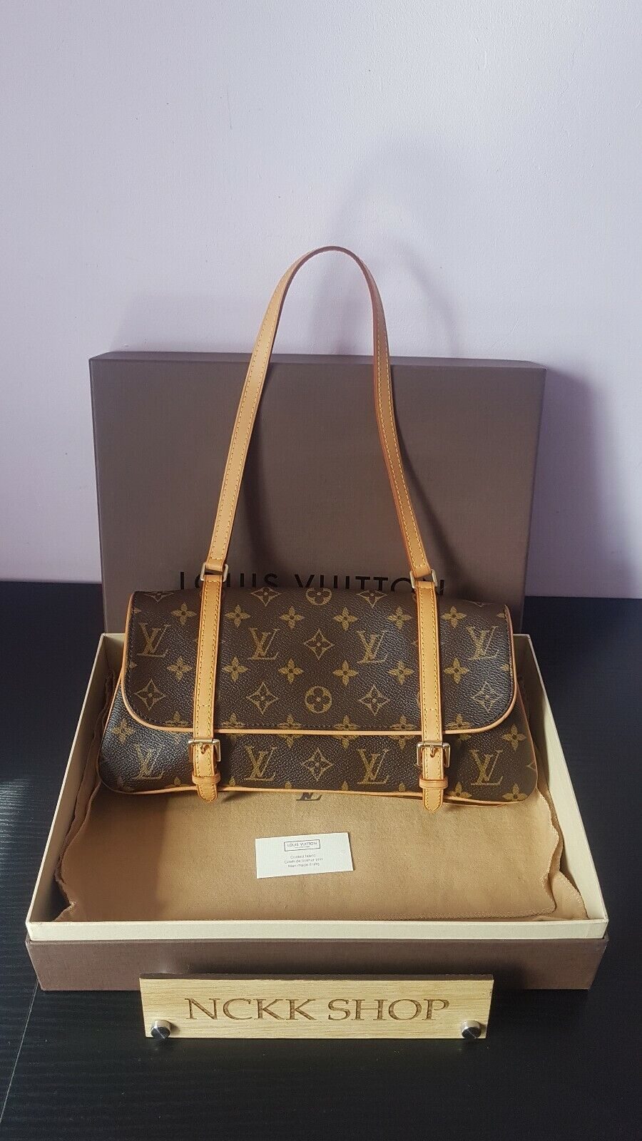 Authentic Louis Vuitton Marelle Monogram Canvas Schultertasche - 605.07,Kaufpreis 605,07,datum 01.07.2020 22:12:38,Website ebay.de