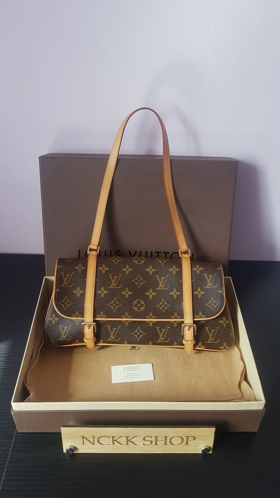Authentic Louis Vuitton Marelle Monogram Canvas Schultertasche - 605.07,Kaufpreis 605,07,datum 01.07.2020 22:12:38,Website quoka.de