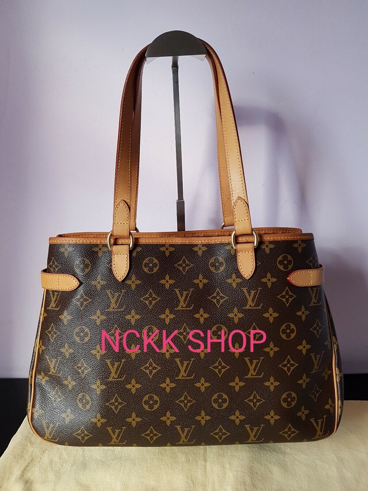 Louis Vuitton Monogram Canvas Batignolles Horizontal Hand Bag m51154 - 825.09,Kaufpreis 825,09,datum 01.07.2020 22:12:38,Website